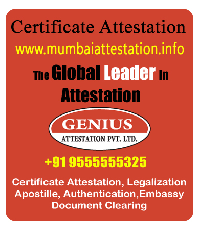 certificate attestation in mumbai