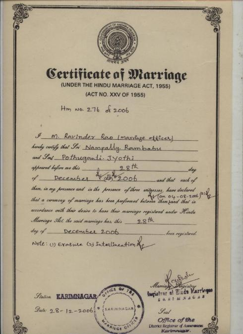 Marriage certificate the chaplin martin marriage certificate marriage certificate attestation mumbai mumbai certificate yadclub Choice Image